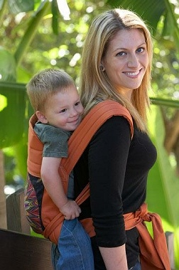 Wearing A Toddler On Your Back In A Baby Carrier