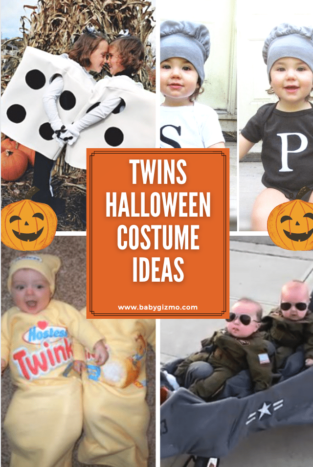 10 Great Halloween Costumes for Twins