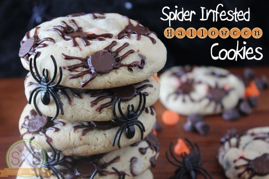 Spider Infested Halloween Cookies
