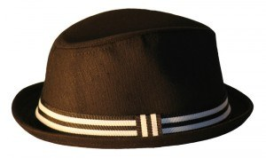 Born to Love   Black with White Stripe Fedora  61115.1315006757.1280.1280 300x178 Cool Accessories For Little Boys