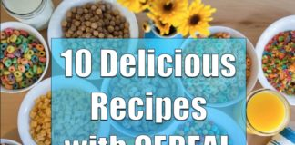 10 Delicious Recipes Using Cereal