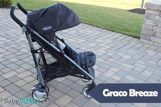 Gracobreaze Graco Breaze Click Connect Stroller Review (VIDEO)