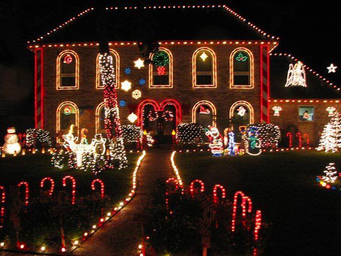 Prestonwood Christmas Lights