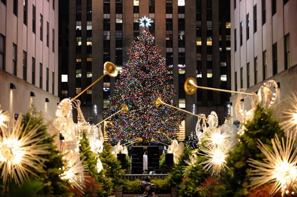The Rockefeller Center Christmas Tree - New York, NY