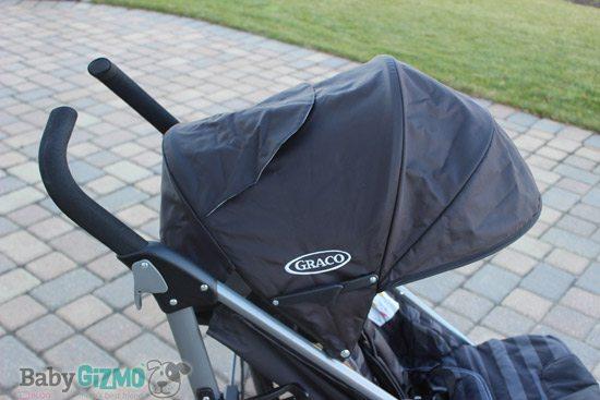 breaze canopy Graco Breaze Click Connect Stroller Review (VIDEO)
