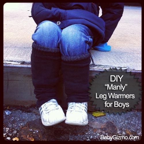 DIY Leg Warmers for Boys