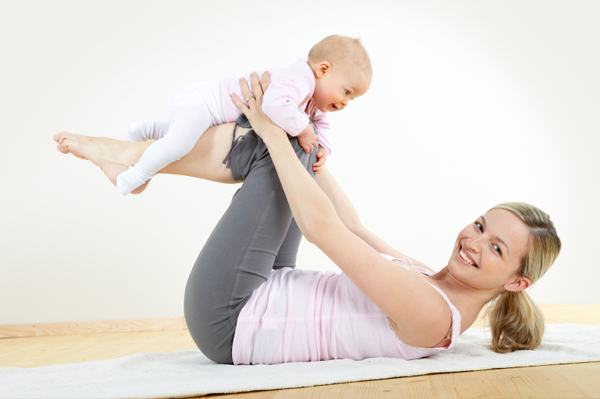 How to Fit in Exercise With Young Children
