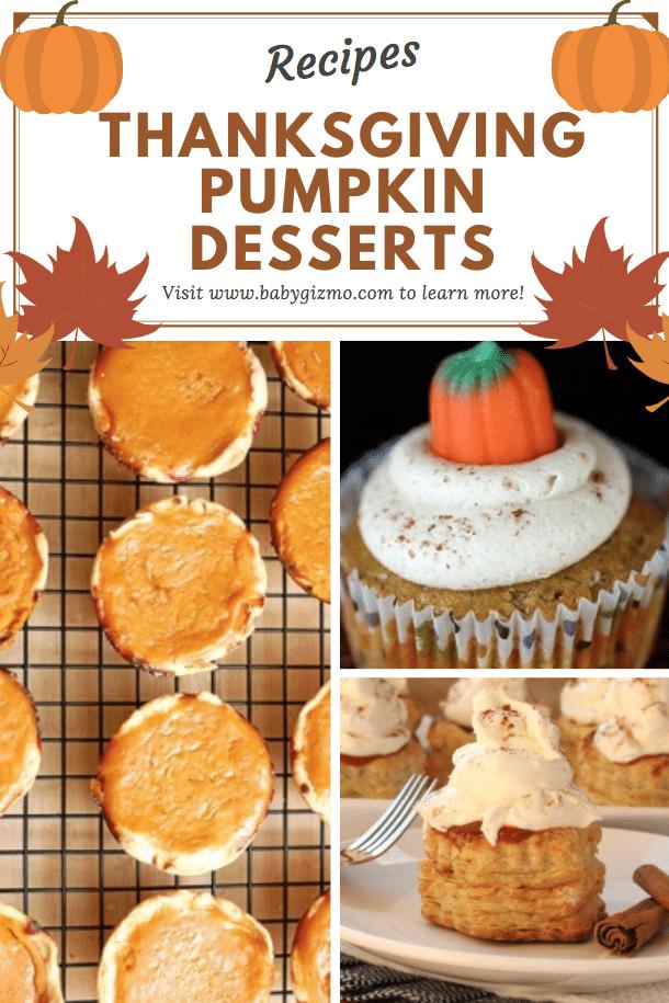 thanksgiving pumpkin dessert
