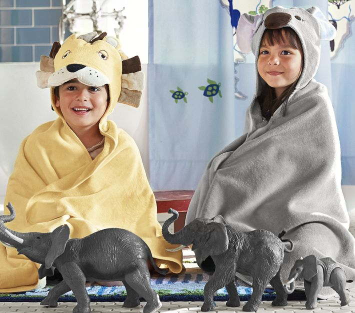 5 Great Hooded Bath Towels for Kids