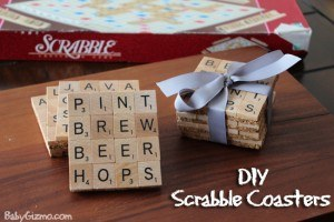 Scarbble Coasters