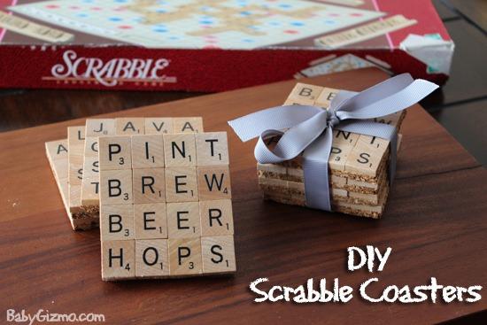 Scarbble Coasters
