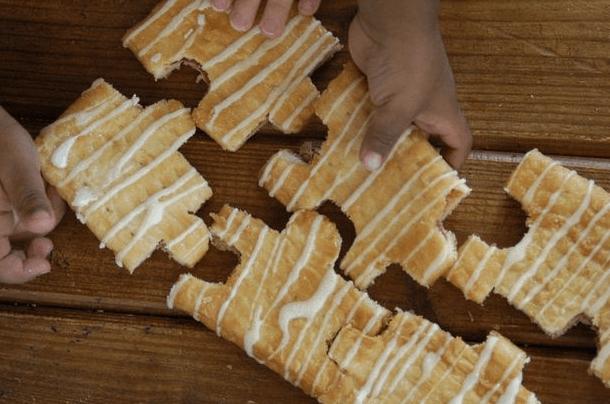edible puzzle
