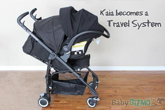 Maxi Cosi Kaia travel system