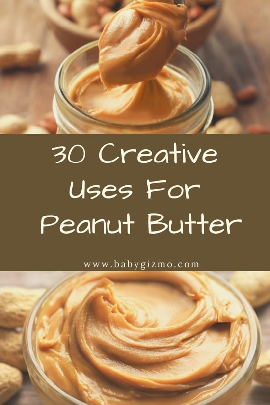 peanut butter uses