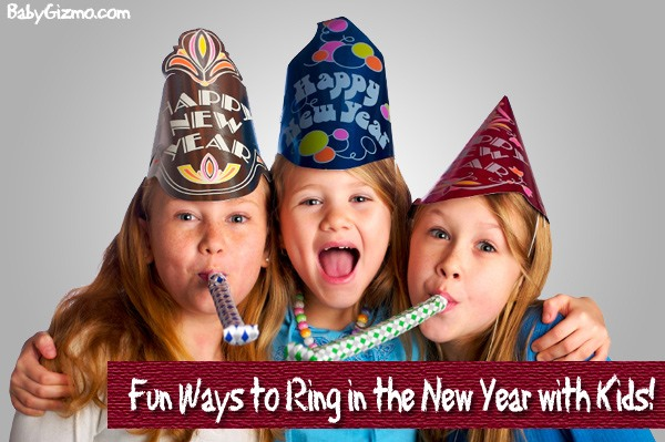 Fun Ways Baby Gizmo Readers Celebrate New Year's Eve with Their Kids