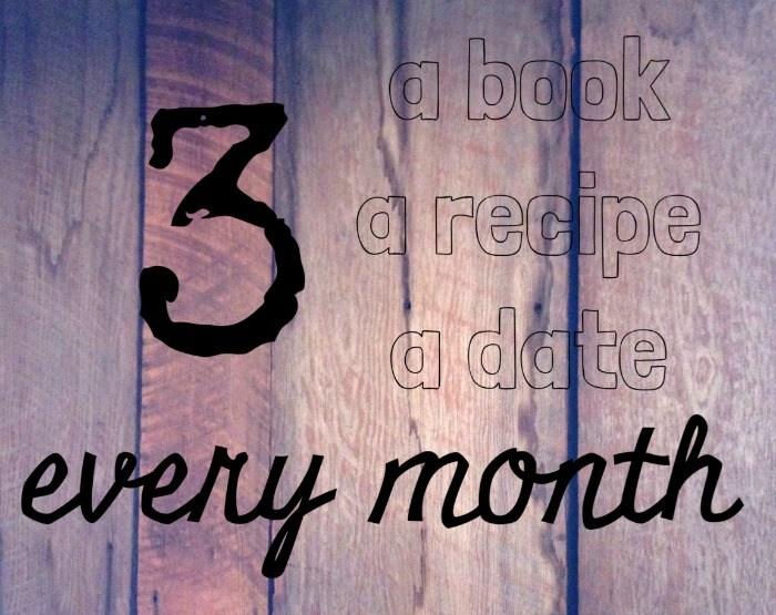 three every month
