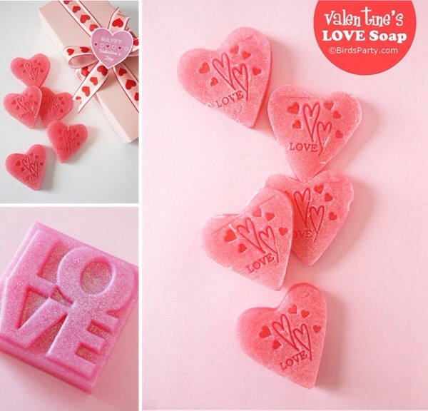 Valentines Day gifts soaps