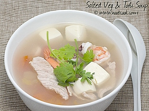 tofu soup recipe