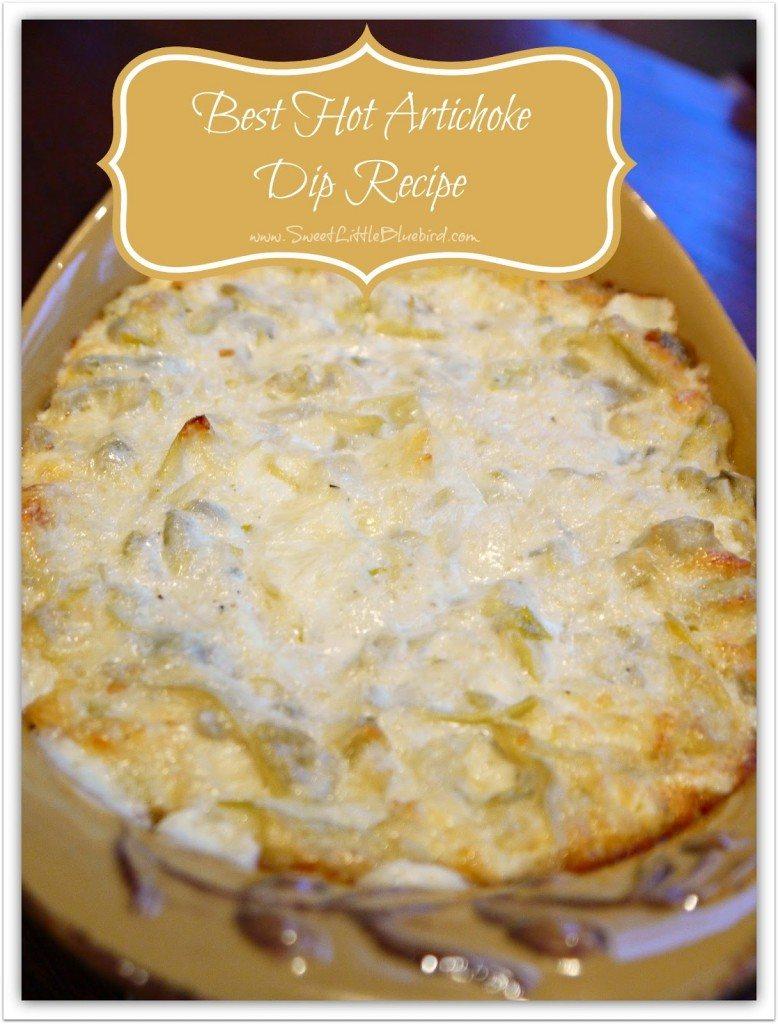 Best Hot Artichoke Dip Recipe 2