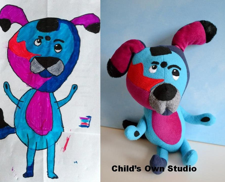 Childsown Turn Your Childs Drawing Into A Stuffed Toy