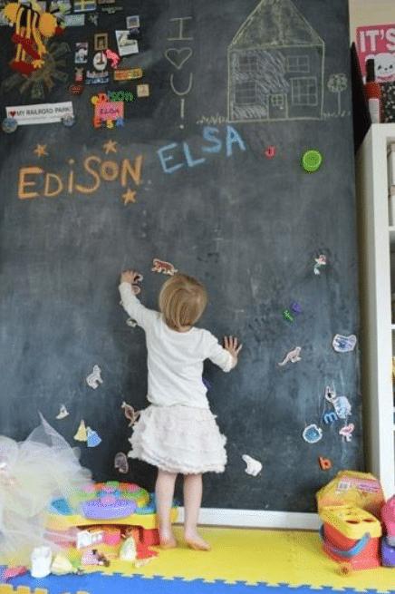 Playroom Idea - Chalkboard