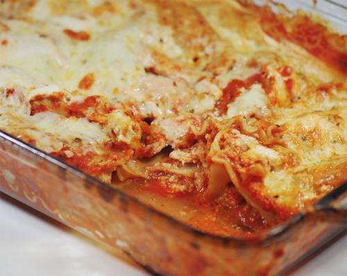 WW Buffalo Chicken Lasagna