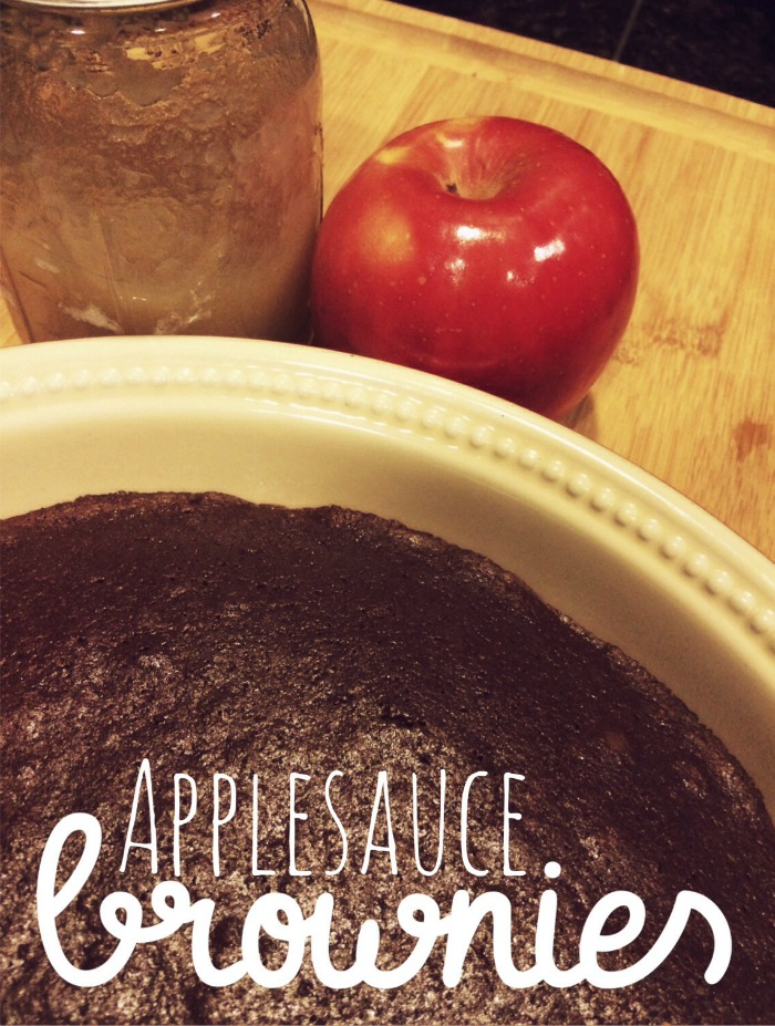Applesauce As A Replacement For Oil In Brownies