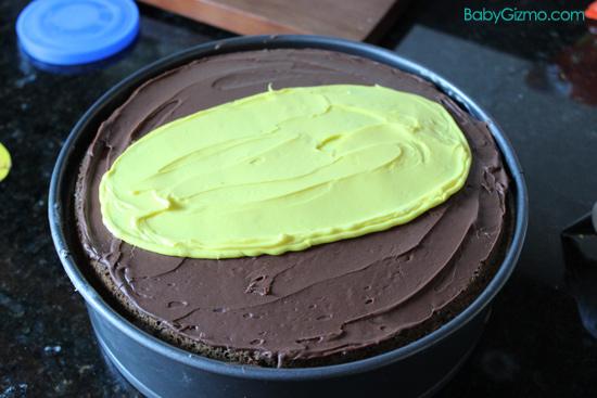 Yellow Icing Cake