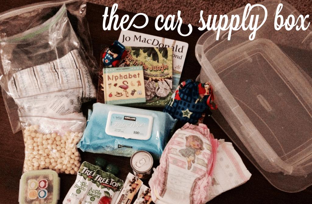 car supply box