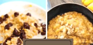 creative oatmeal recipes