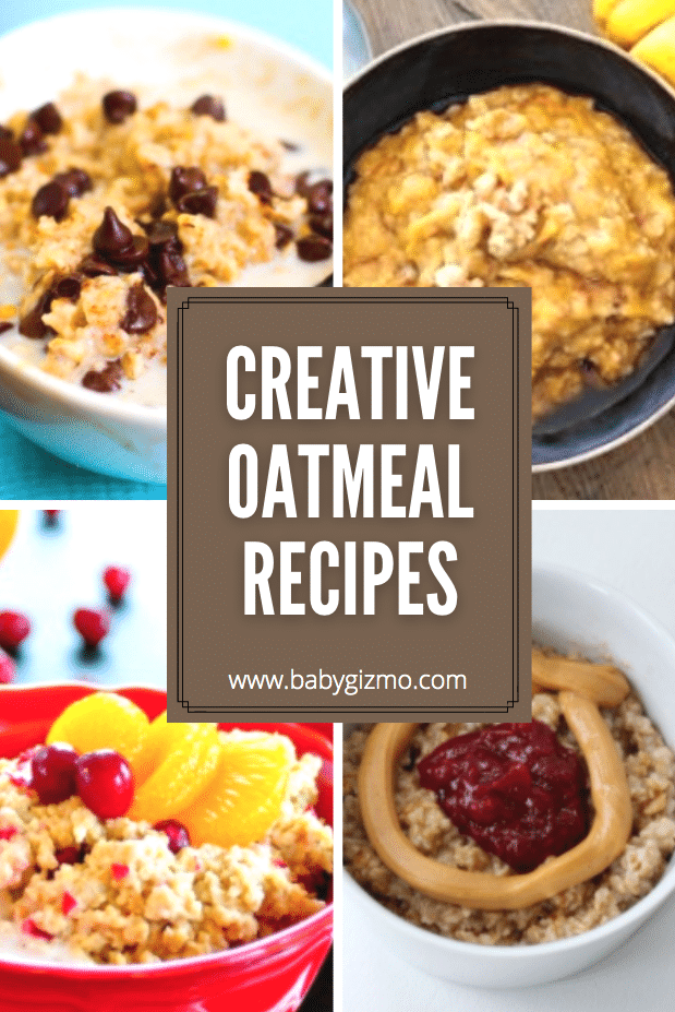 creative oatmeal recipes