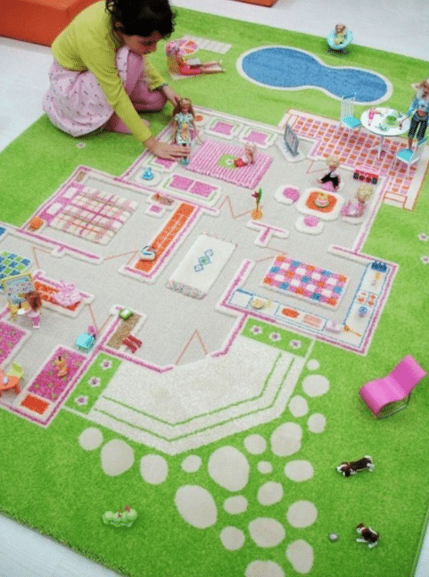playroom idea - playroom rug
