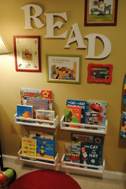 playroom idea - reading room