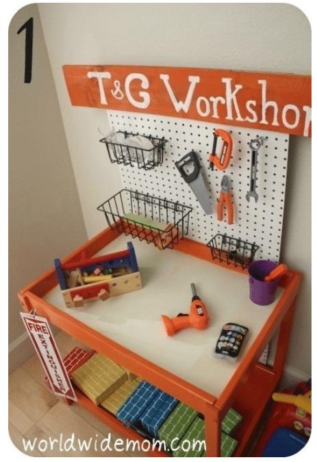 playroom idea - workshop