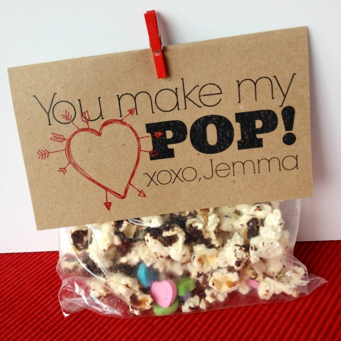 Valentine DIY … You Make My Heart Pop!