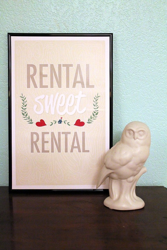 rentalsweetrental Decorating Tips For Renters