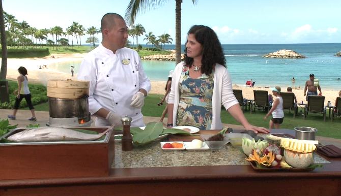 Disney Aulani Resort and Spa Signature Dish (VIDEO)
