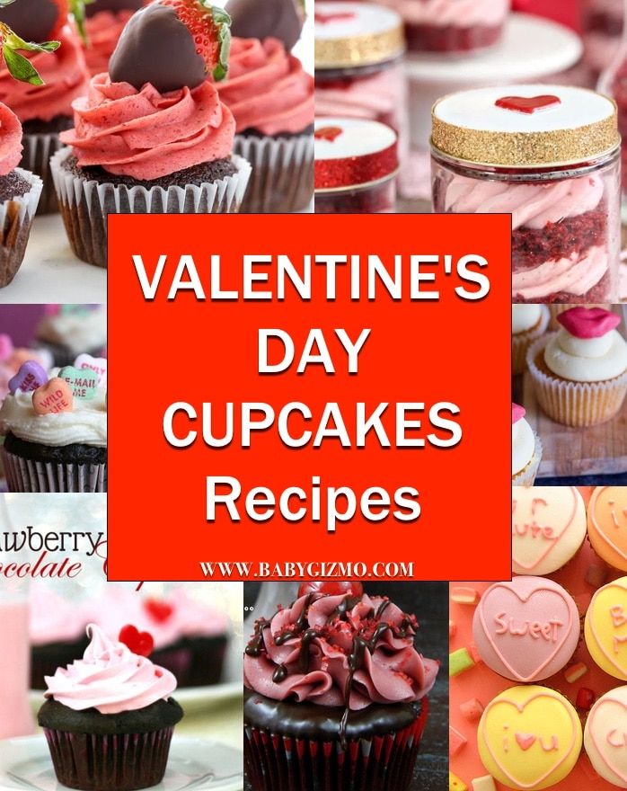 Valentine's Day Cupcake Recipes
