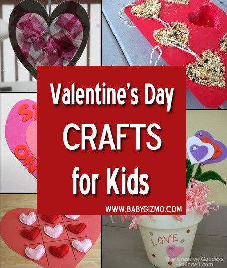 Various holiday crafts to celebrate valentine's day