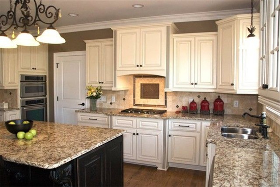 Kitchen Island Different Color Than Cabinets building a house with pinterest - kitchen edition | baby gizmo