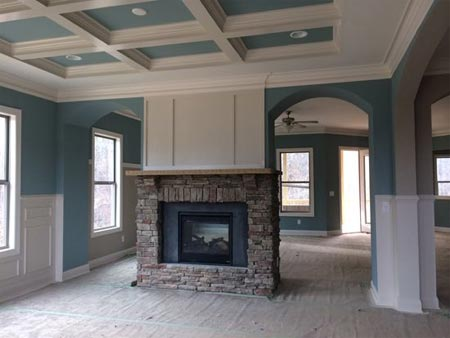 fireplace Building a House with Pinterest – Family Room Edition