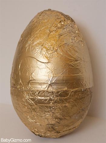 Golden Egg for Easter