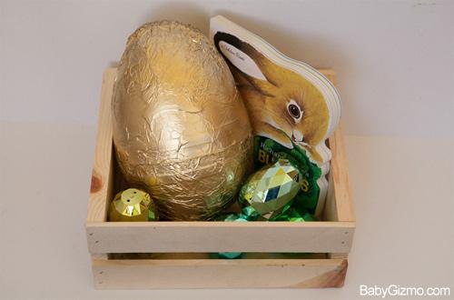 DIY Golden Easter Egg