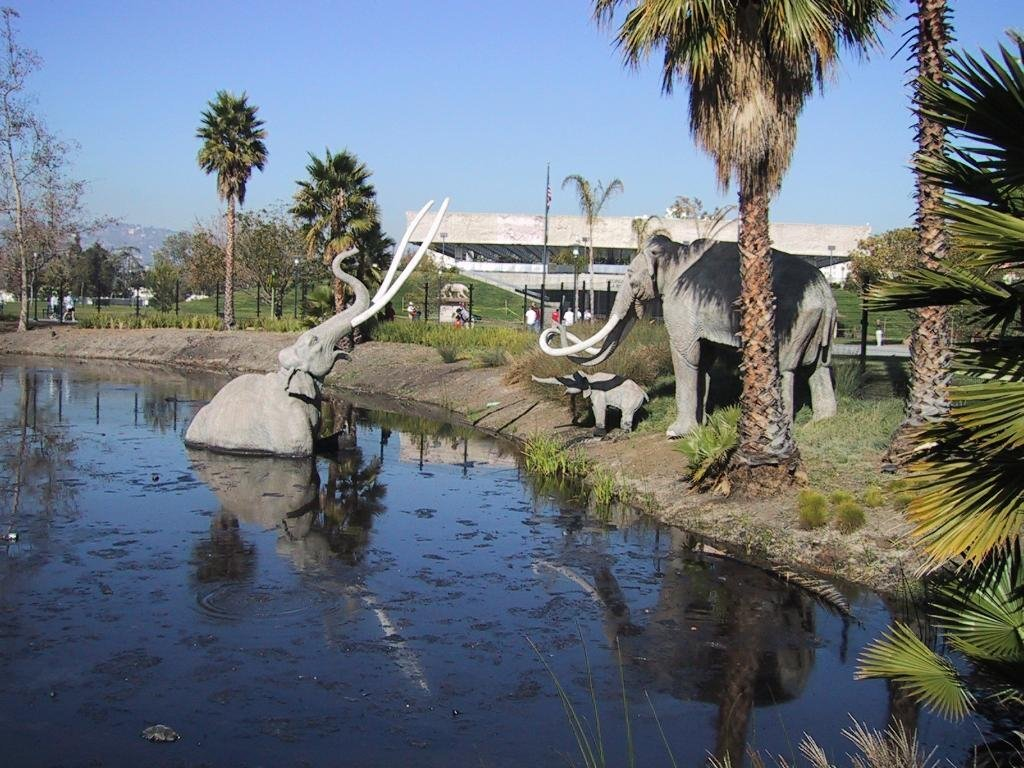 Visiting the La Brea Tar Pits with Small Children