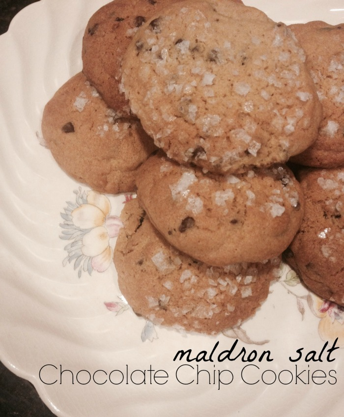 Maldron Salt Chocolate Chip Cookies