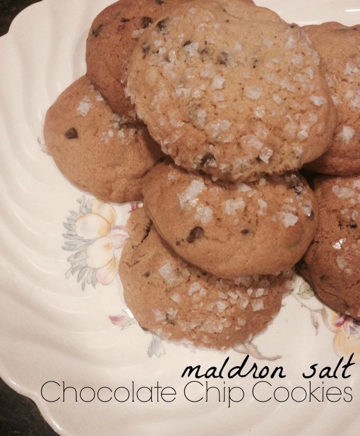Maldron Salt Chocolate Chip Cookies