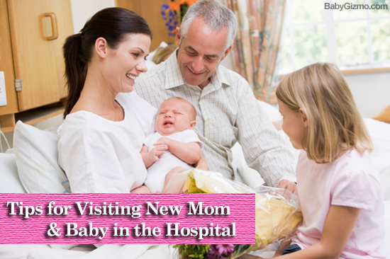 Tips for Visiting a New Mom & Baby