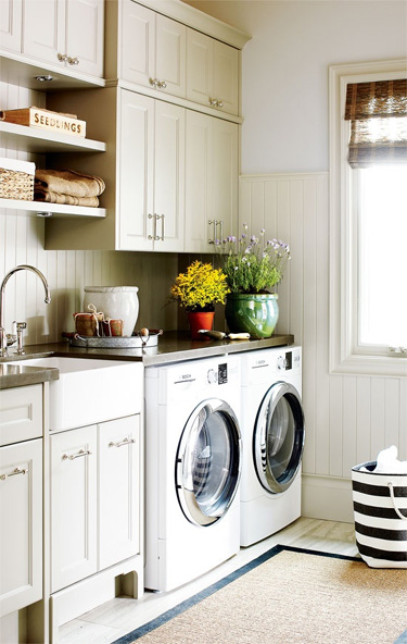 Building a House with Pinterest – Laundry Room Edition