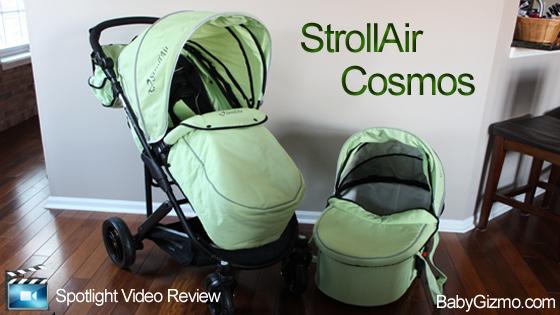 StrollAir CosmoS Stroller Spotlight Review (VIDEO)