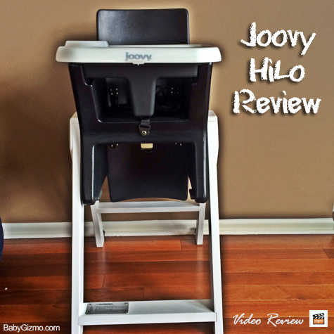 Baby Gizmo Spotlight Video Review: Joovy HiLo High Chair